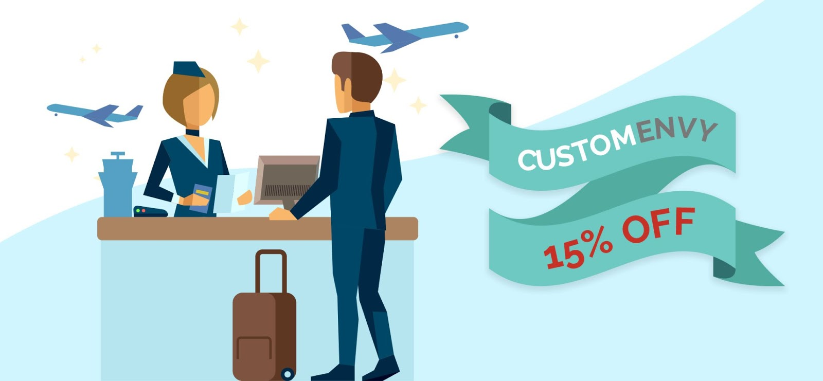 Because You Make Our Travels Safer: Travel Staff Exclusive 15% Discount