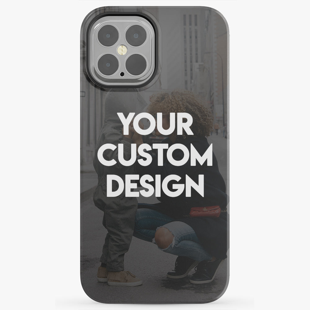Custom iPhone 12 Pro Max Extra Protective Bumper Case