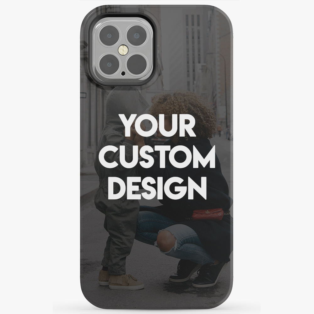 Custom iPhone 12 Pro Extra Protective Bumper Case
