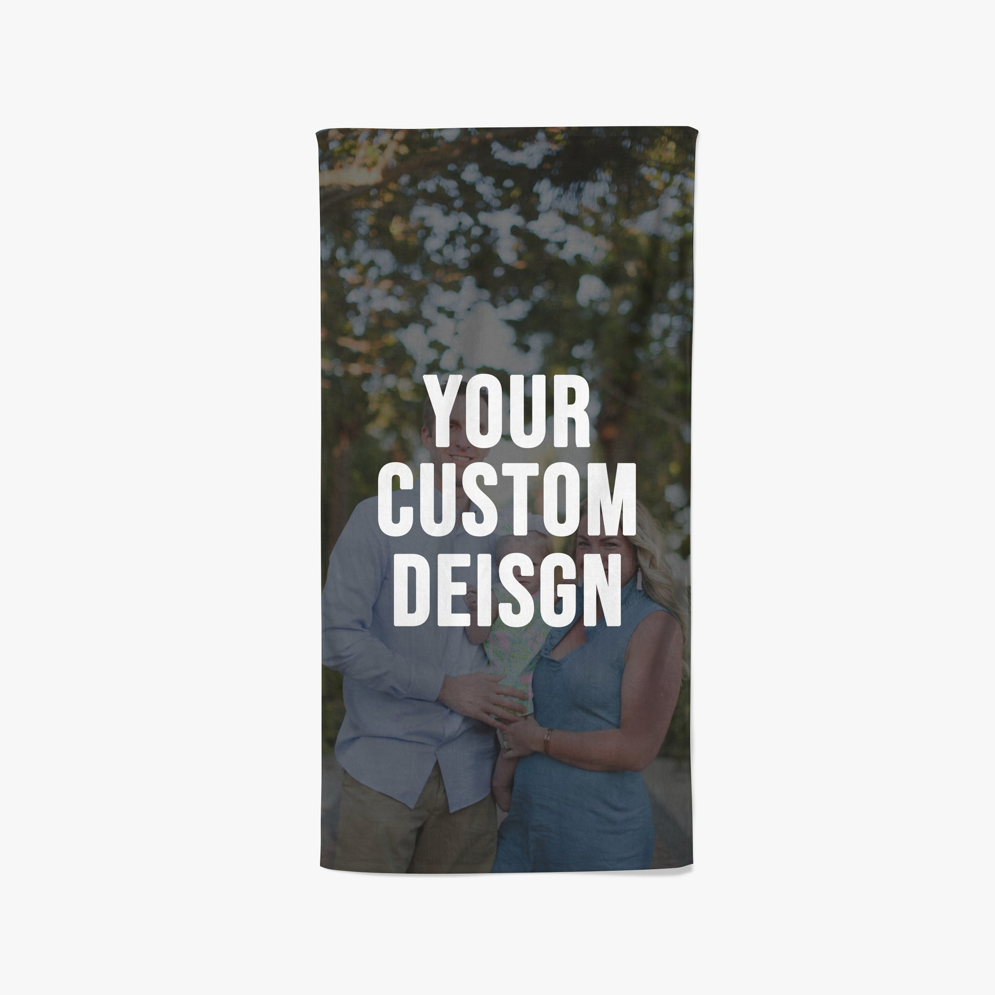 Custom Small Beach Towel