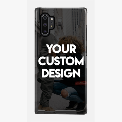 Custom Galaxy Note 10 Plus Extra Protective Bumper Case