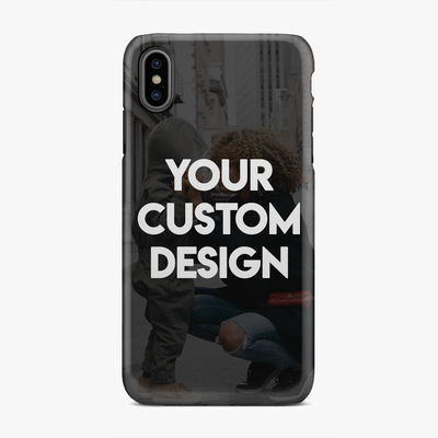 Custom iPhone XS Max Extra Protective Bumper Case