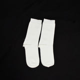 Mustang Socks - Plain White (Single)