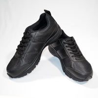 Sparx Black School Shoes