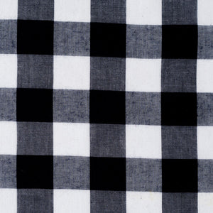 Navy Gingham Large Check