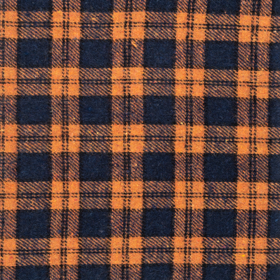 Flanno - Orange/Navy