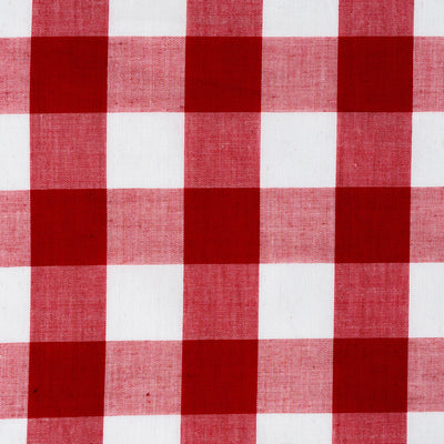 Red Gingham Large Check