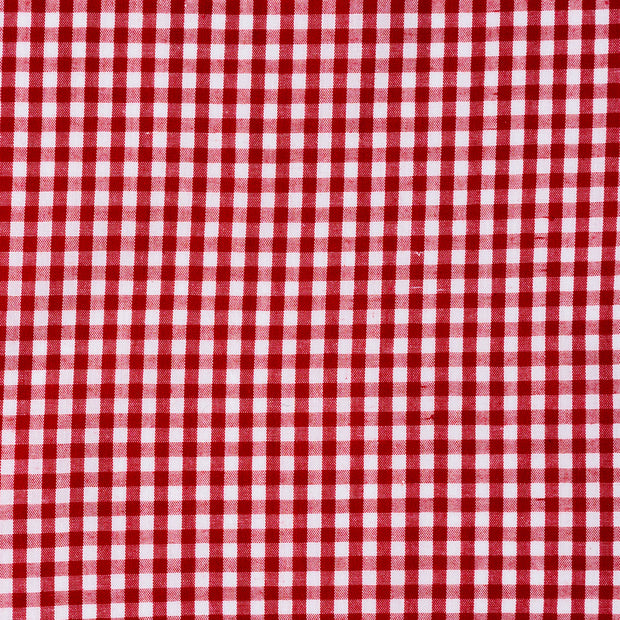 Red Gingham Small Check