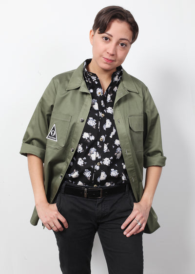 Shirt Jacket - Army Green