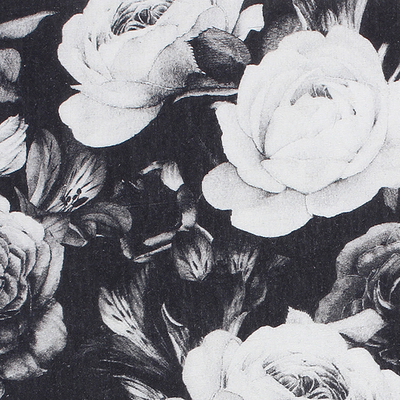 Large Monochrome Roses