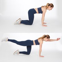 Opposite Arm and Leg Raise Firmabs
