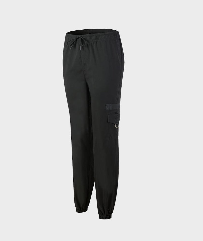 Cargo Joggers Black - Firm Abs Fitness