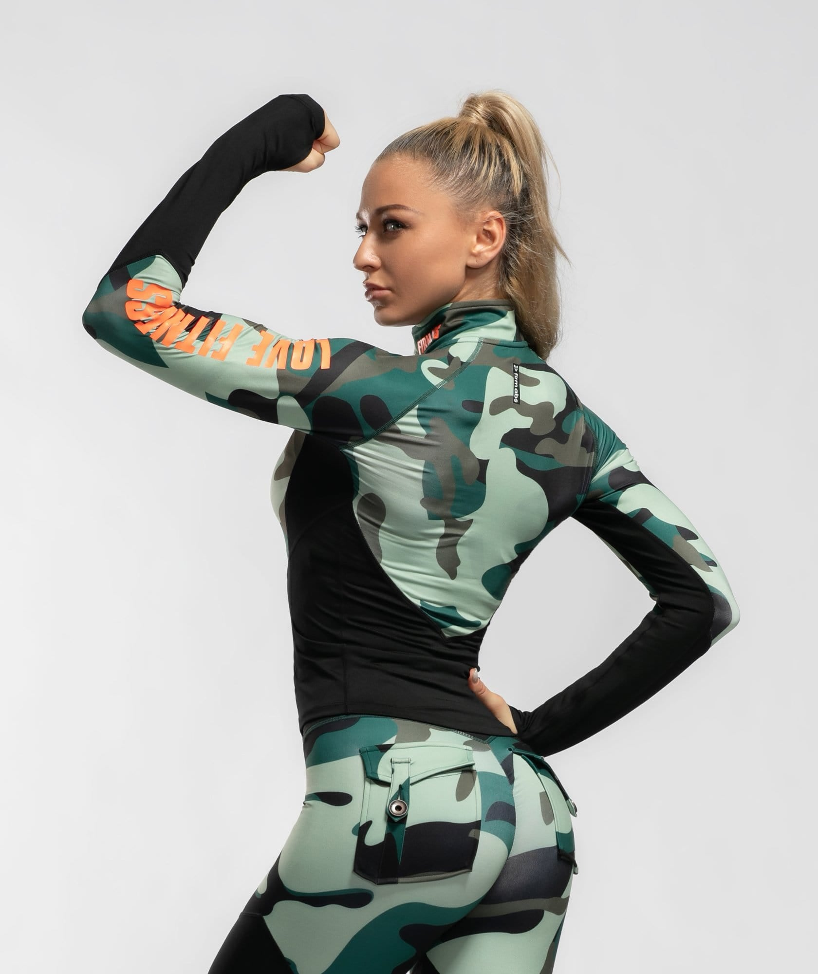 Camo Long Sleeve - Firm Abs Fitness