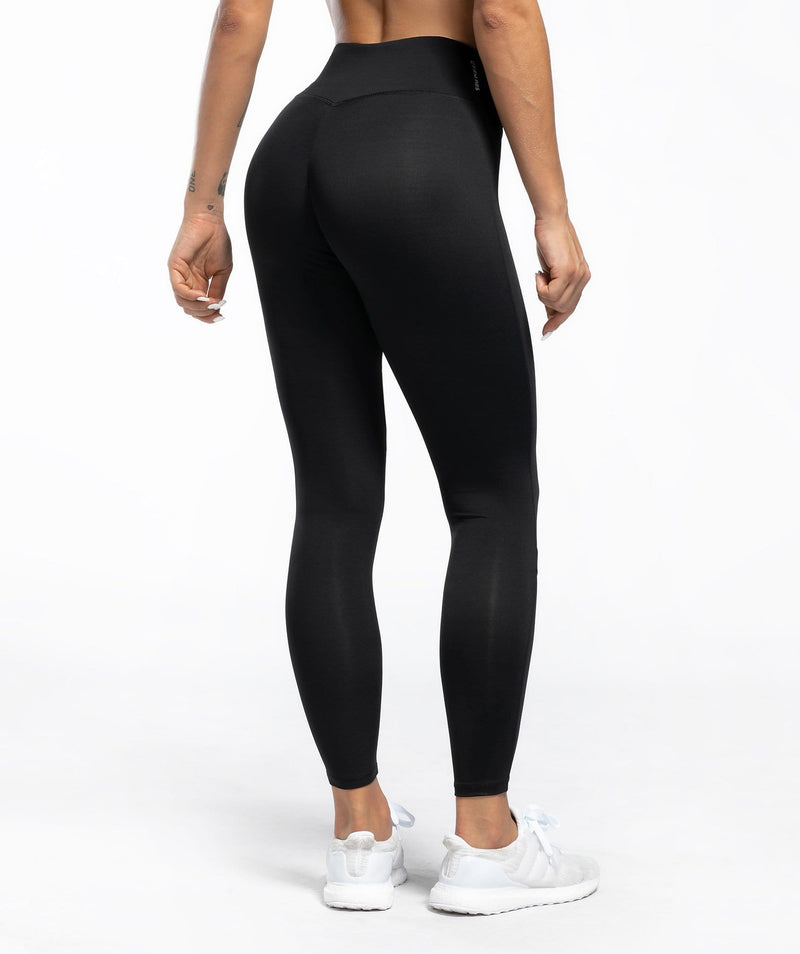Asymmetric Force Leggings - Firm Abs Fitness