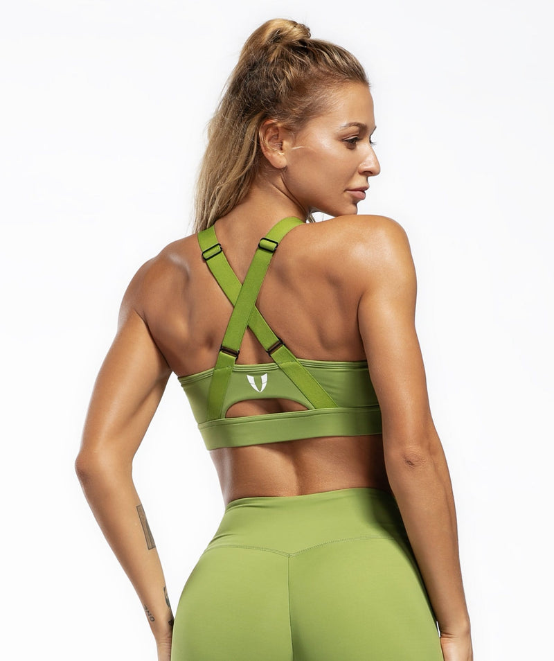 Allure Sports Bra - Firm Abs Fitness