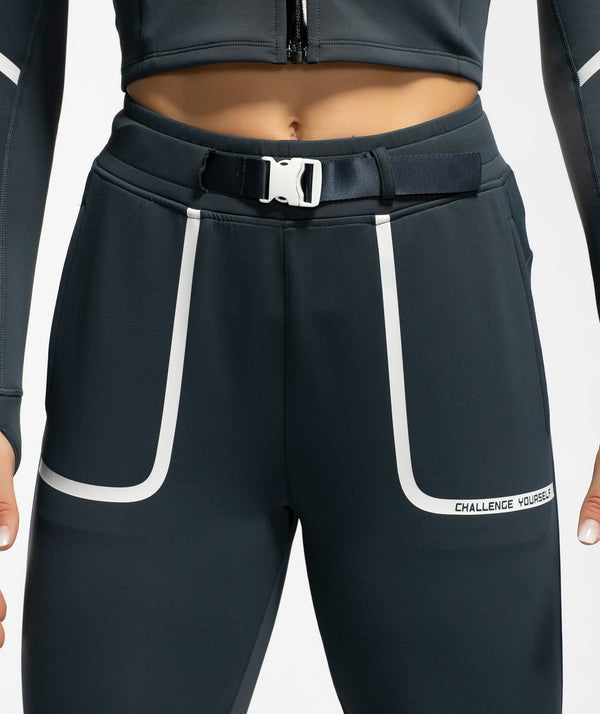 Vital Buckle Leggings - Firm Abs Fitness