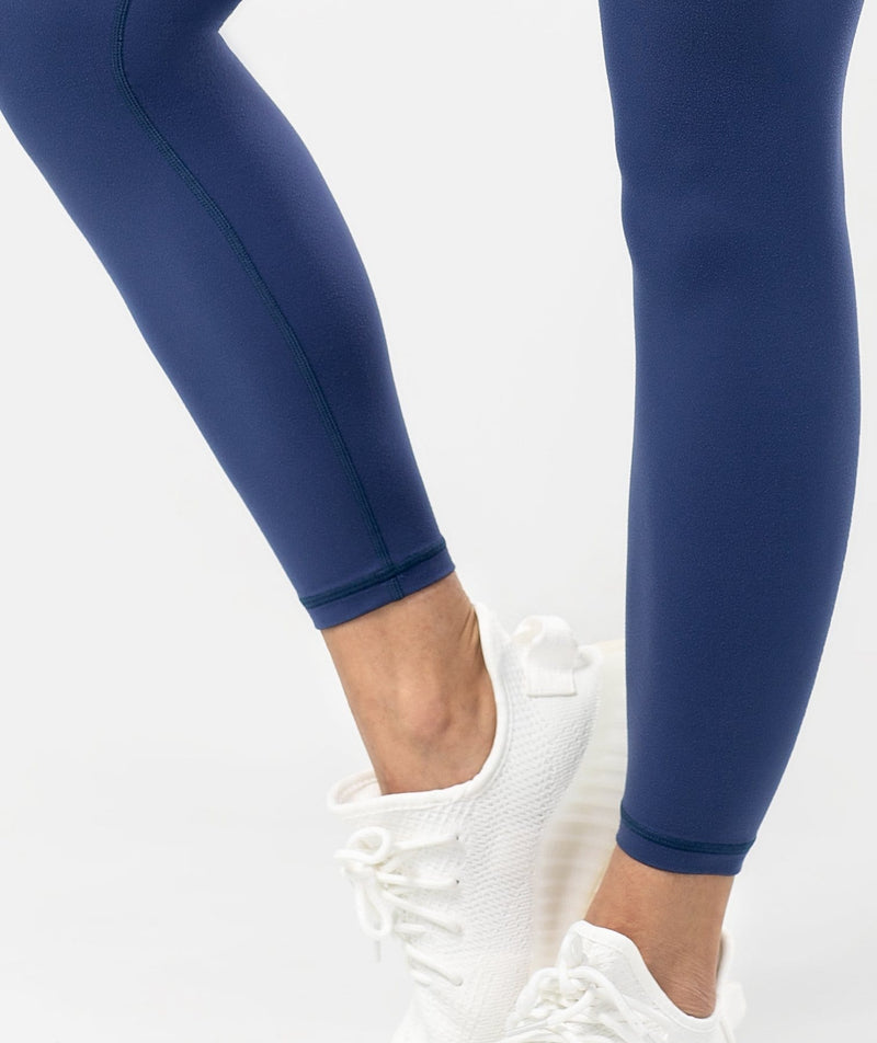 Essential Leggings - Blue - Firm Abs Fitness