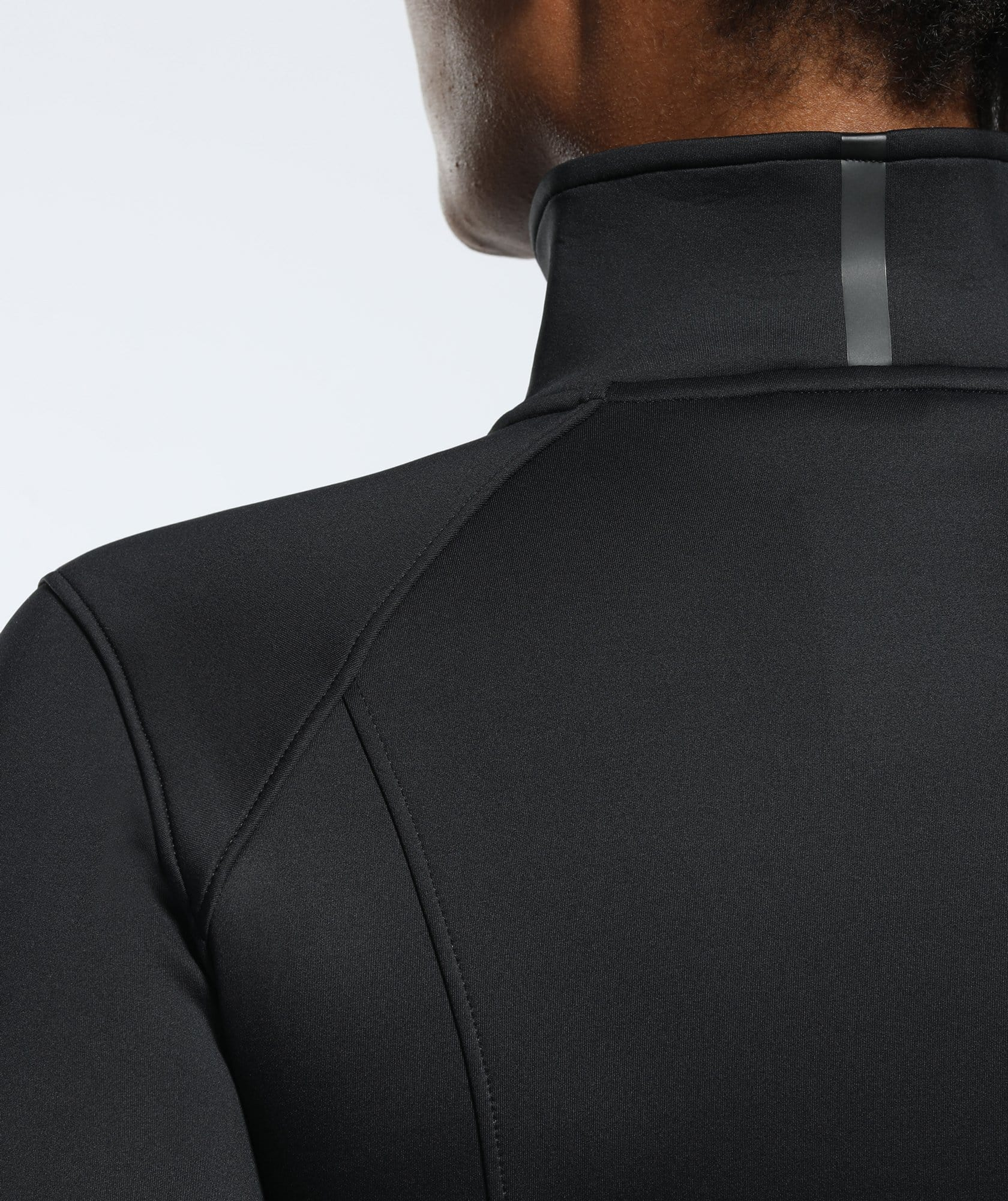 Speed Zip Jacket - Black - Firm Abs Fitness