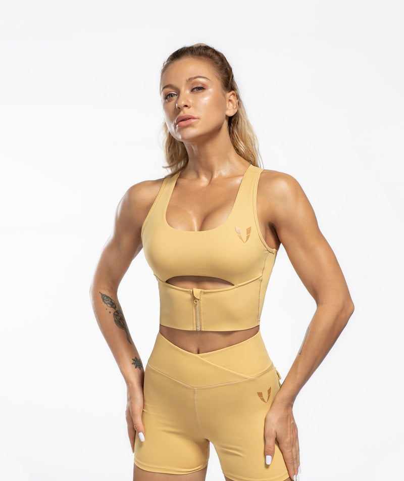 Scoop neck Sports Bra