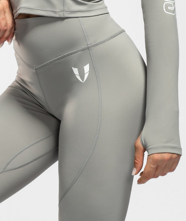 Swift Scrunch Leggings - Gray - Firm Abs Fitness