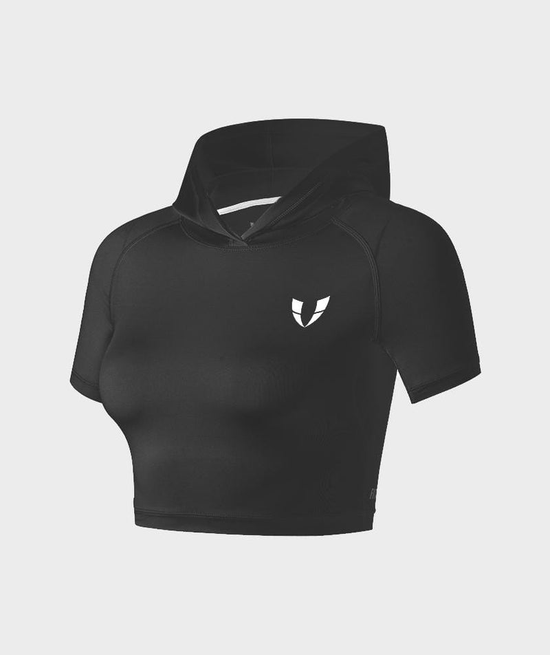 Firmabs Short Sleeve Hoodie - Firm Abs Fitness