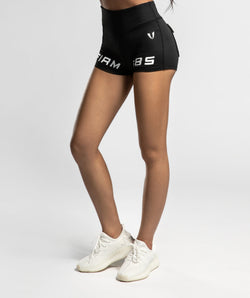 High Waisted Shorts - Firm Abs Fitness
