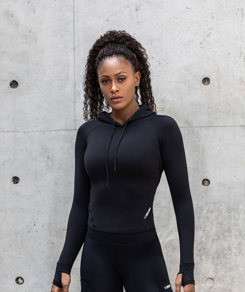 Long Sleeve Hoodie - Firm Abs Fitness