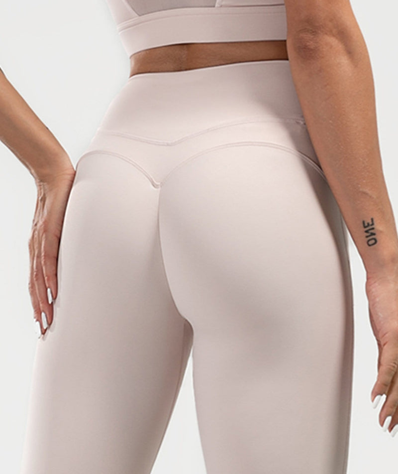 Mesh Training Leggings - Firm Abs Fitness