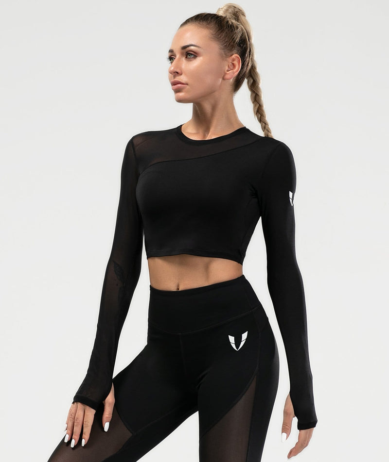 Allure Mesh Long Sleeve - Firm Abs Fitness
