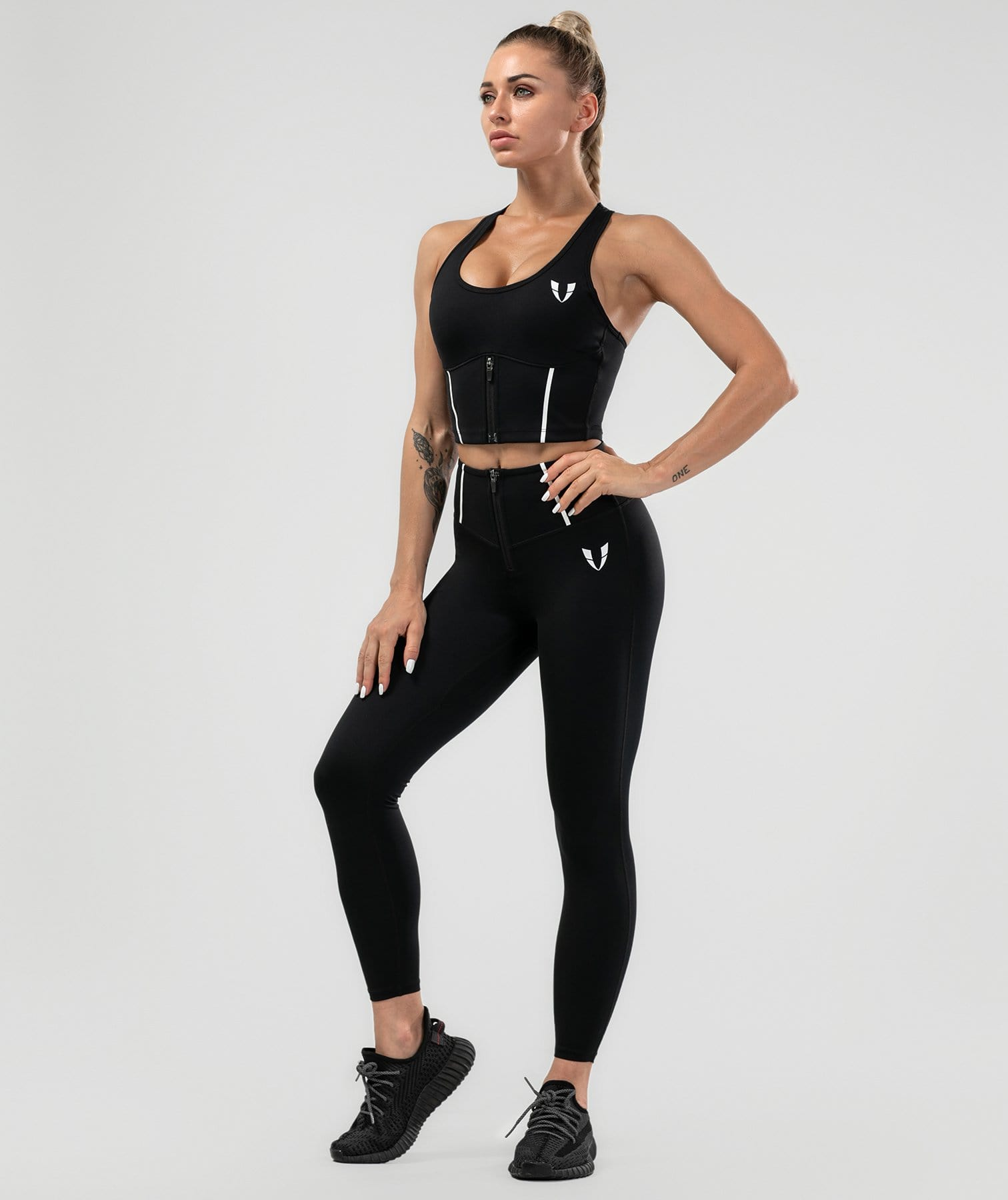 Shaping Training Leggings - Black - Firm Abs Fitness
