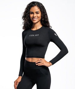 Training Cropped Tops - Firm Abs Fitness
