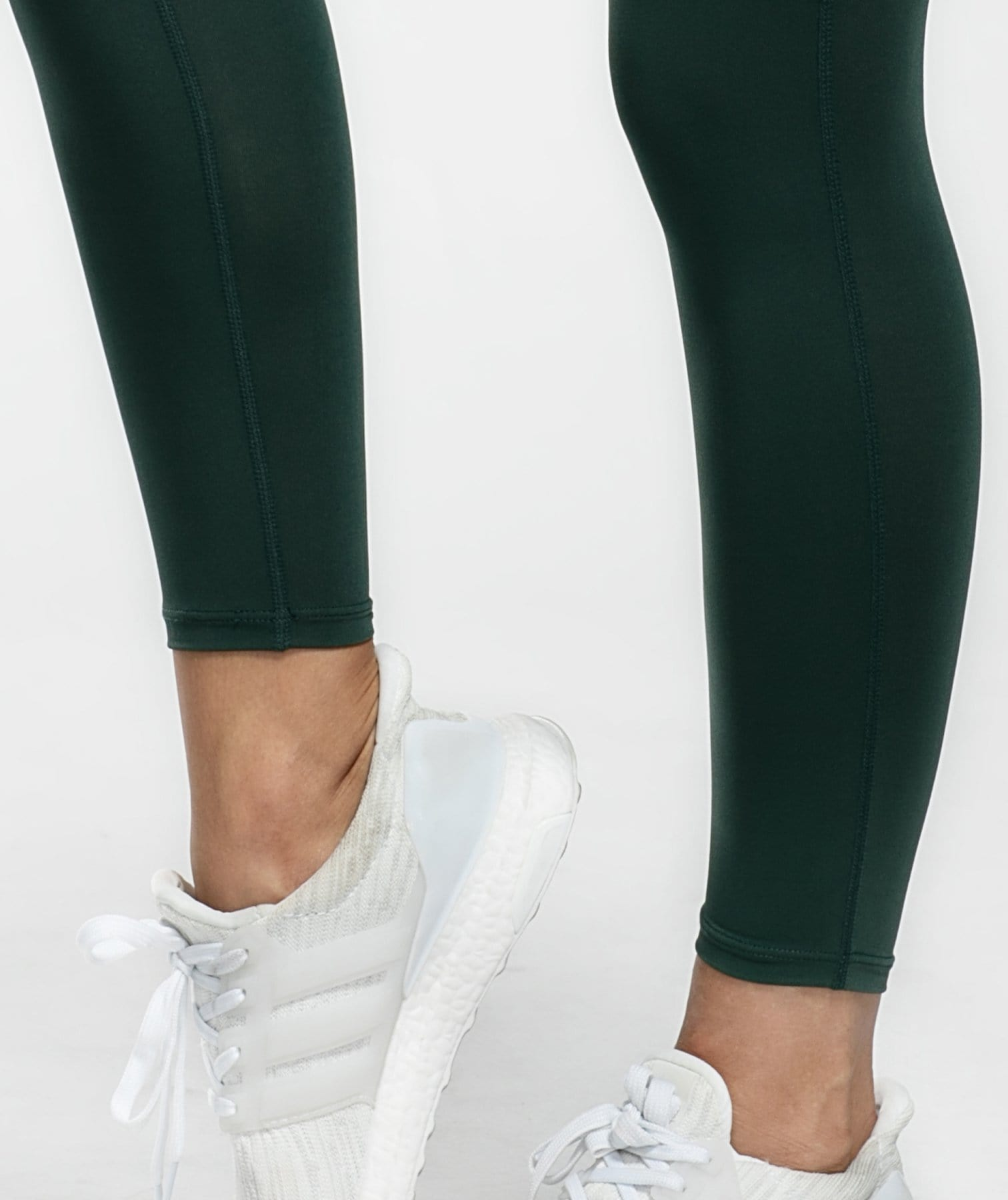 Cargo Ankle Length Leggings - Dark Green - Firm Abs Fitness
