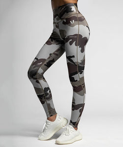 Camo Fitness Leggings - Firm Abs Fitness