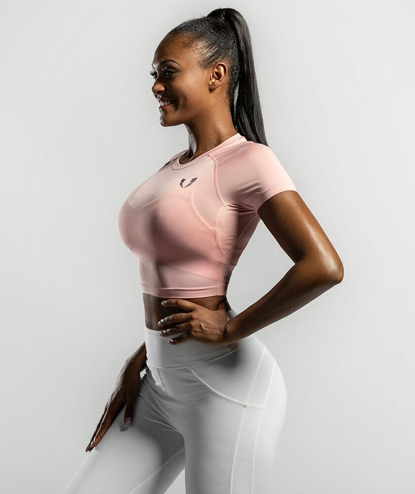 Basic Crop Top - Firm Abs Fitness