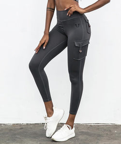 Cargo Training Leggings - Firm Abs Fitness