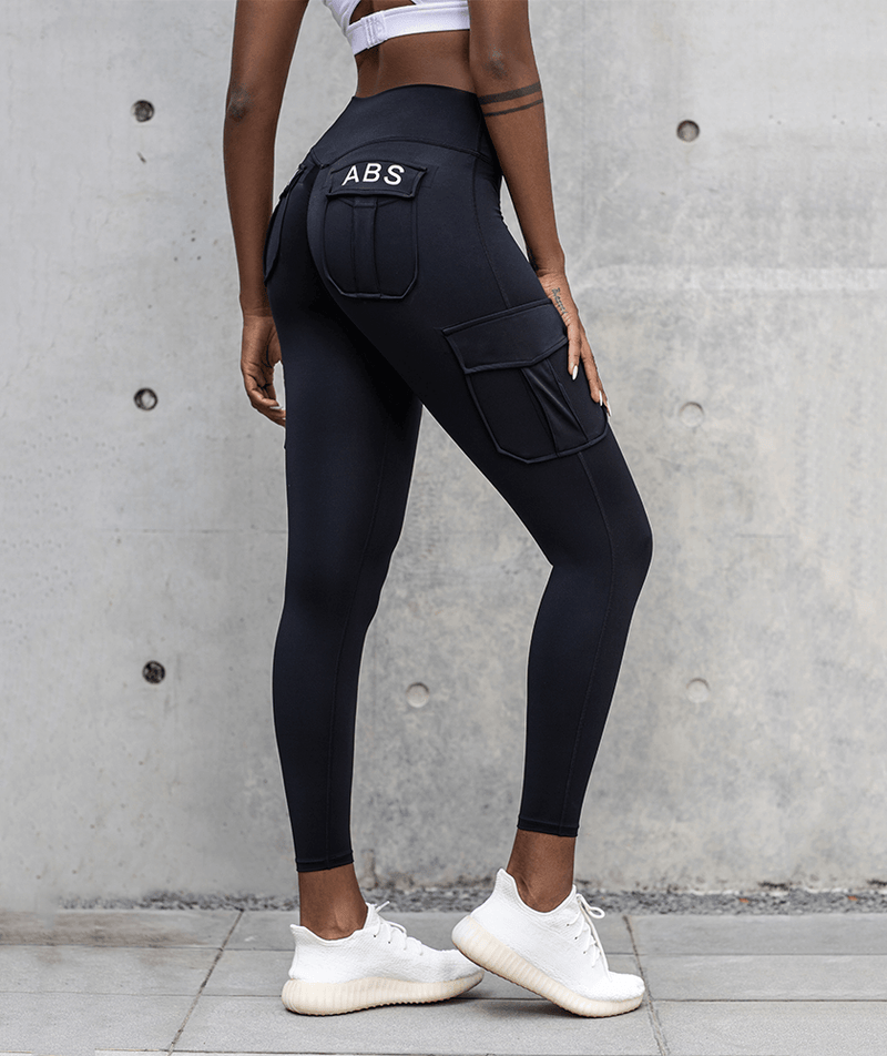 Seamless Cargo Leggings - Firm Abs Fitness