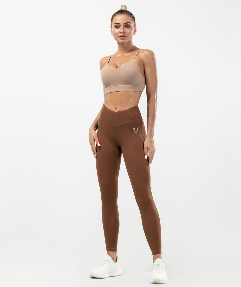 Flex Training Leggings - Dark Coffee