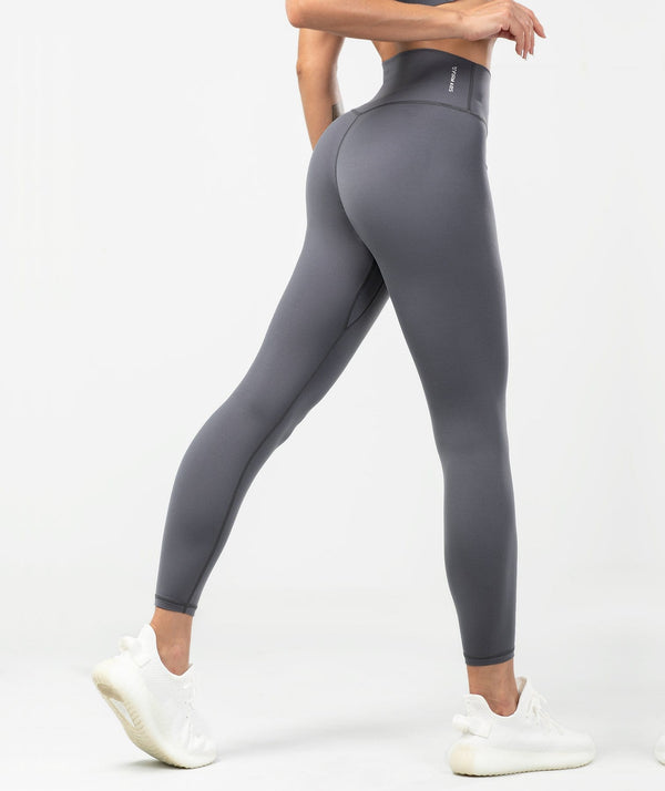 Essential Leggings - Gray - Firm Abs Fitness