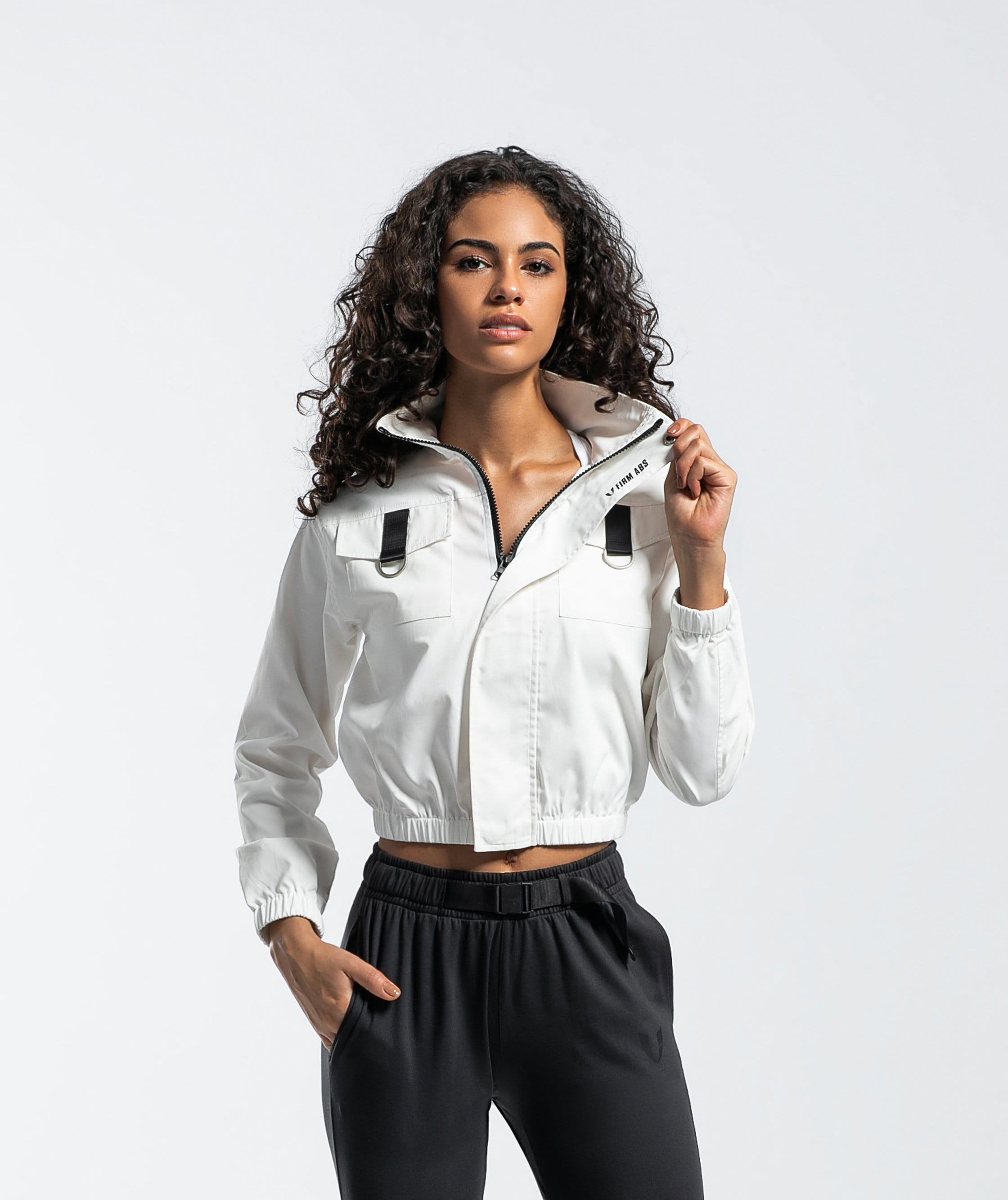 CARGO UTILITY TRACK JACKET - Firm Abs Fitness