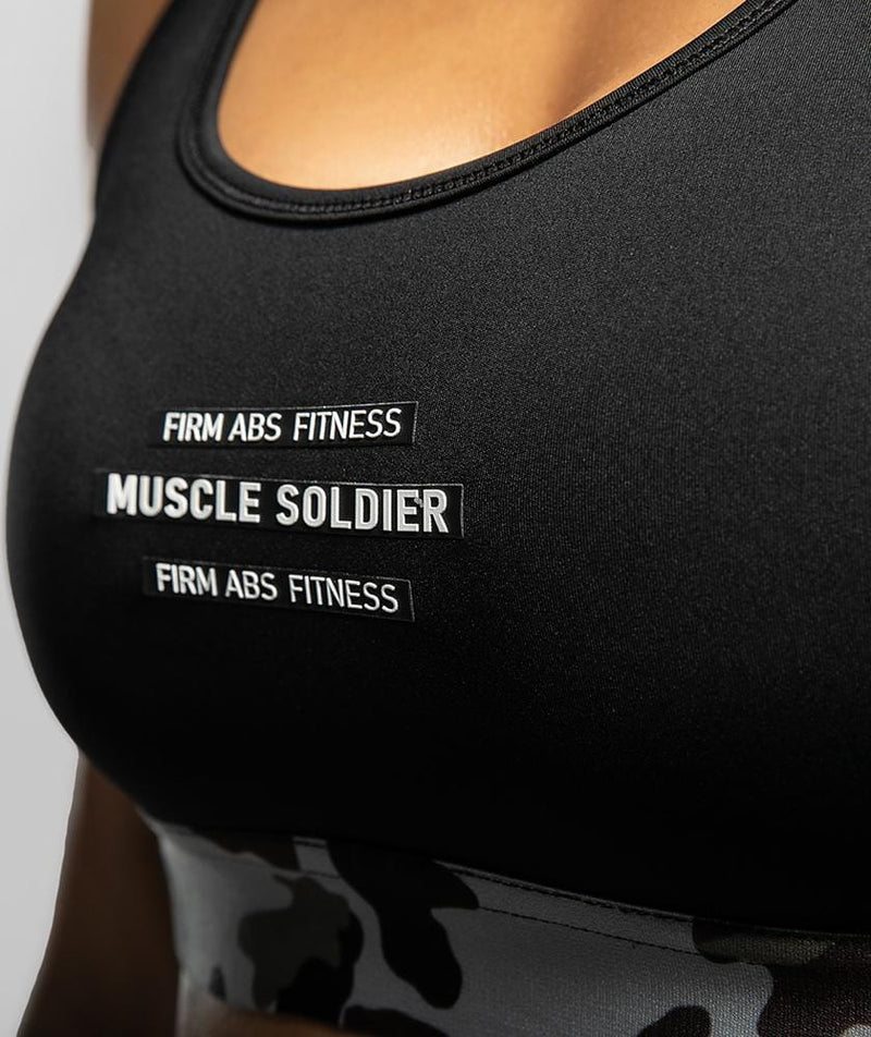 Racerback Sports Bra - Firm Abs Fitness