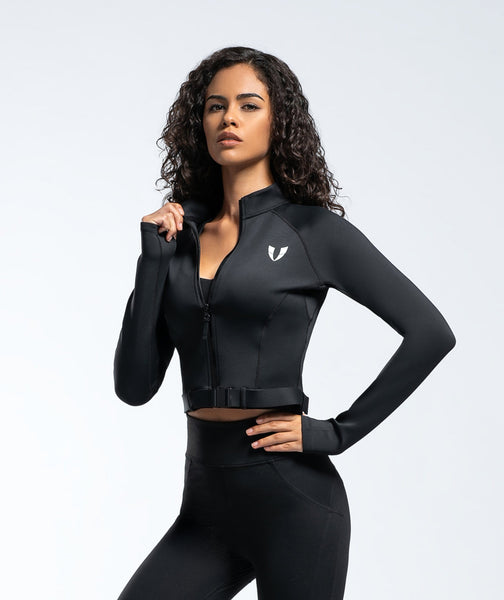 Challenge Jacket - Black - Firm Abs Fitness
