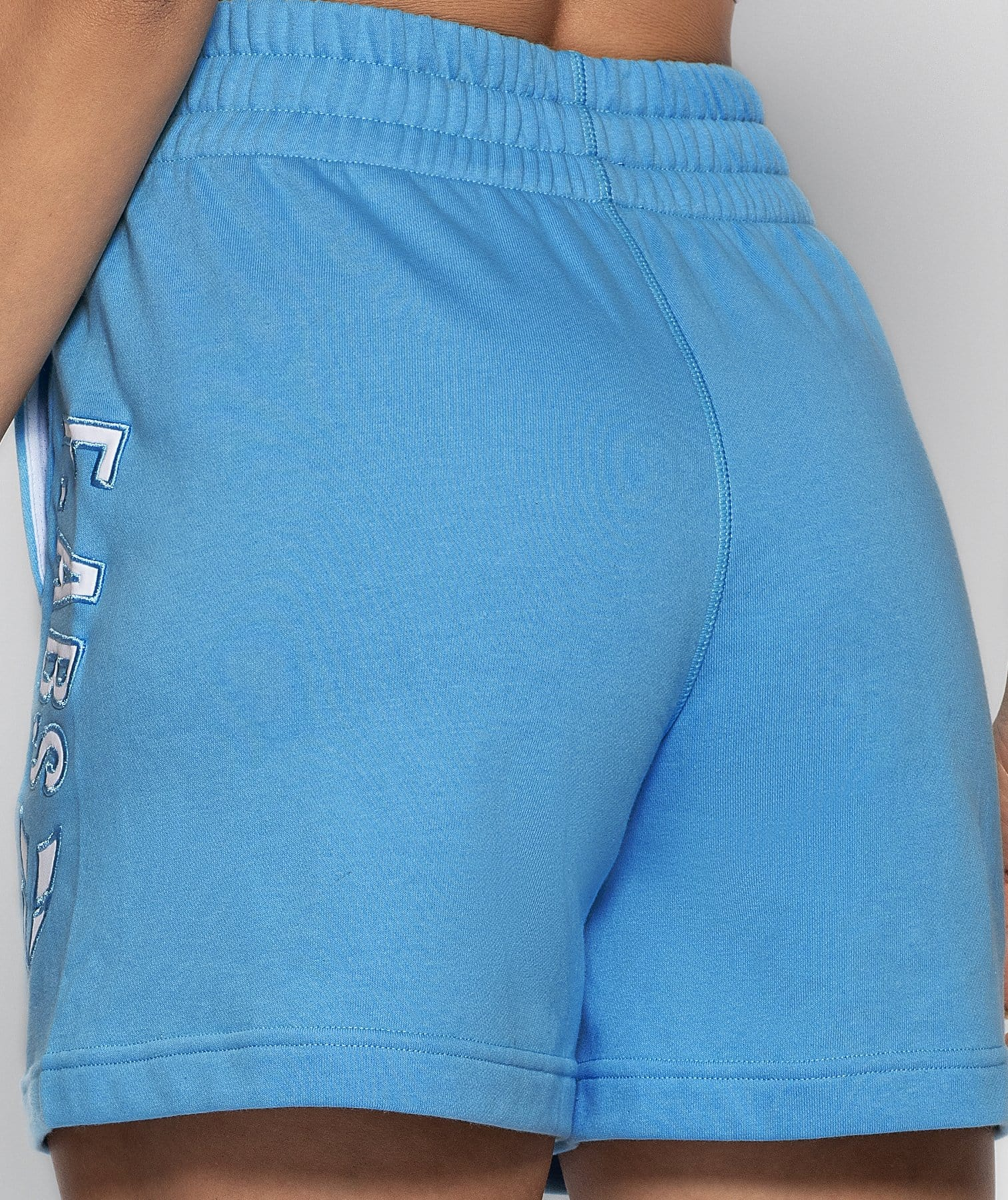Drawcord Loose Shorts - Blue - Firm Abs Fitness
