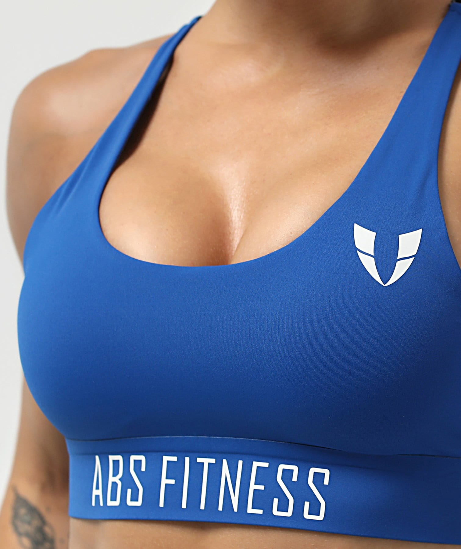 City Power Sports Bra - Blue - Firm Abs Fitness