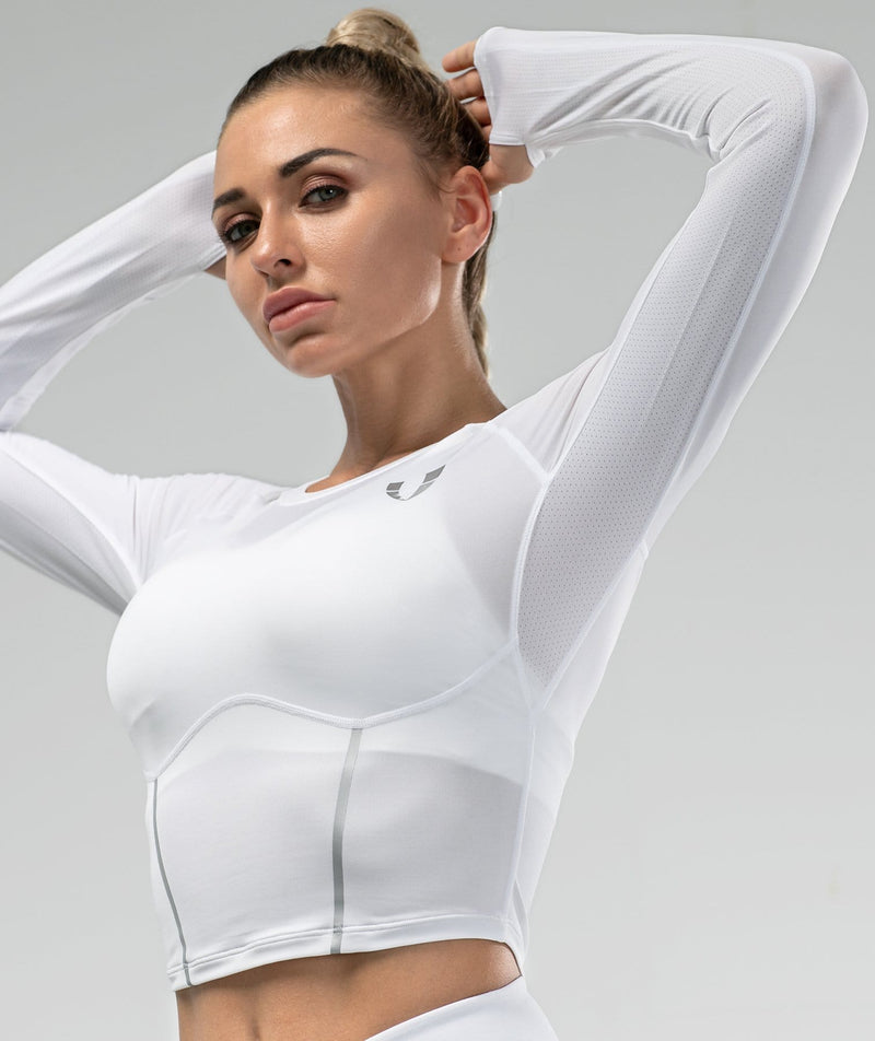 Shaping Long Sleeve - White