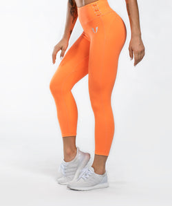 Honeypeach Cropped Leggings - Firm Abs Fitness