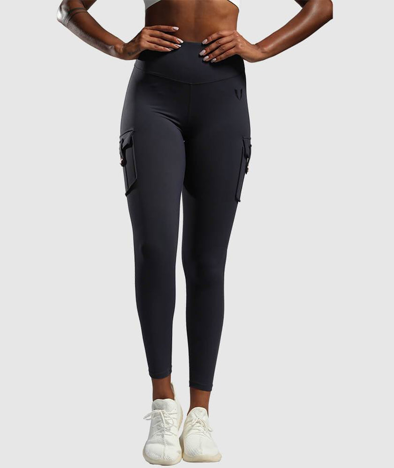 Cargo Pockets Leggings - Firm Abs Fitness