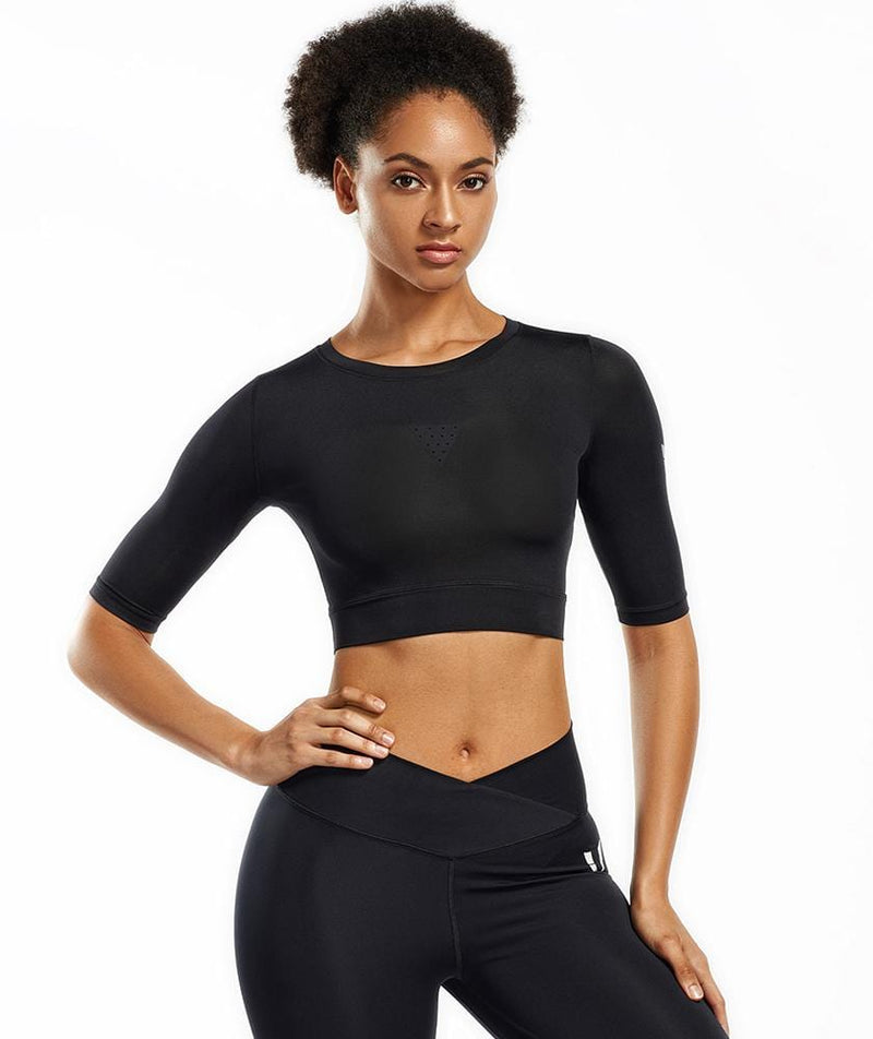 Aircon Cropped Tops - Firm Abs Fitness