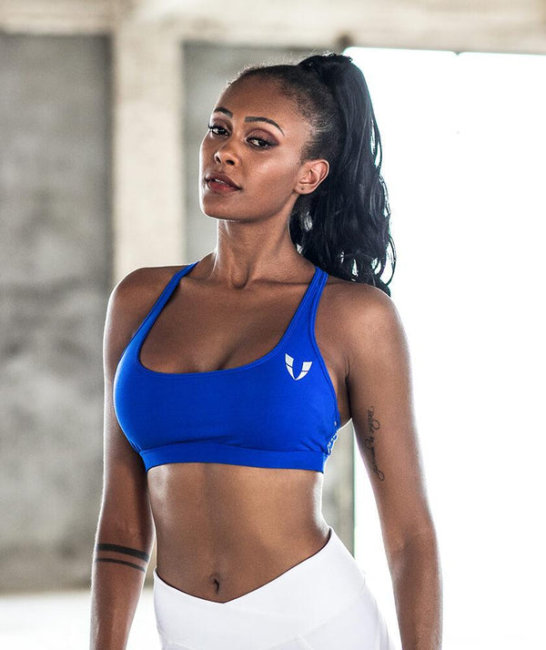 Firmabs Basic Sports Bra - Blue - Firm Abs Fitness