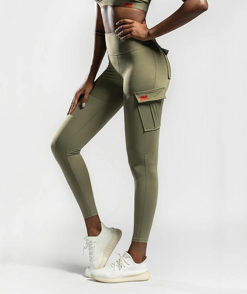 Solo Cargo Leggings - Firm Abs Fitness