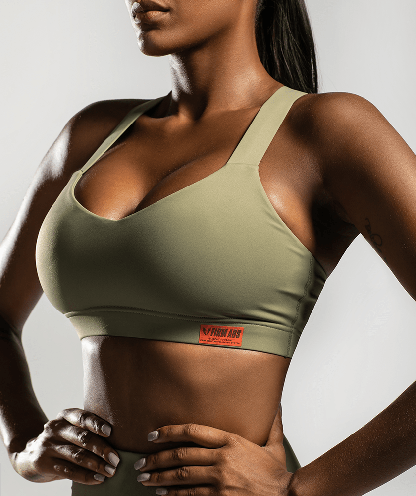 Compression Support Sports Bra